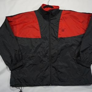 Vintage JCPENNY'S USA Olympic raincoat Mens XL
